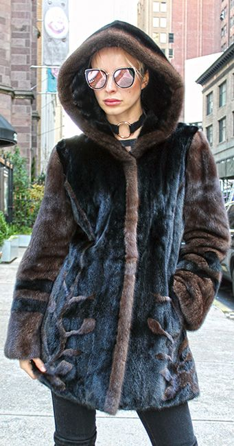 Clearance furs Designer Furs Mink Coats Full length Mink Coat. We are showing a beautiful selection of the finest fashion full length mink coats at wholesale pricing. Any of our Mink coats that you see can be made in any size or color. In addition if you prefer a sleeve on one garment, a collar (shawl, wing, notch, etc.) of another garment and the length of a different fur, we can design it specially for you. In addition if you have a specific style that you like and don't see on our sigh...