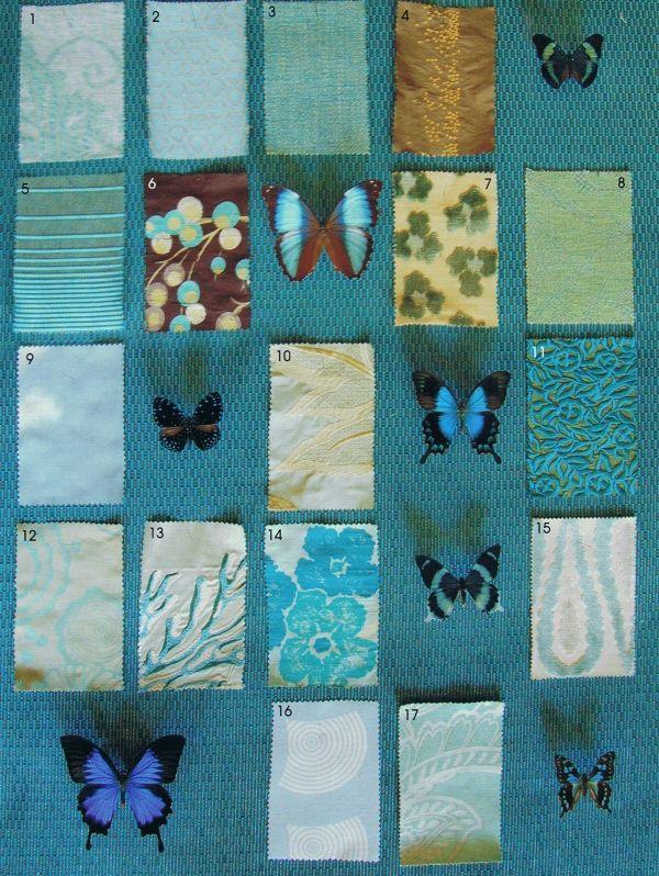 Designer Guild, Blue palette Cote Est