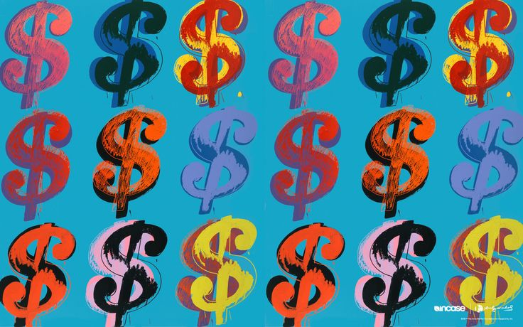 Dollar Sign, 1982 by Andy Warhol