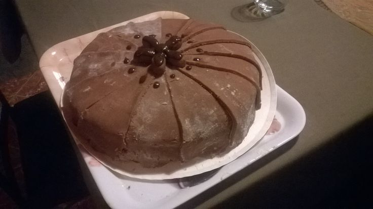 I made.. :) #chocolate #cake