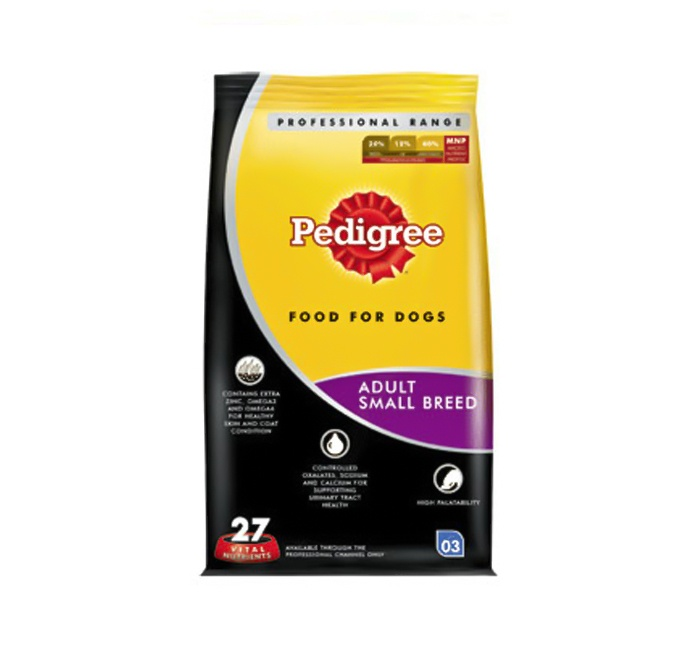 Pedigree Dog Food Active Adult Professional - 3 Kg Buy Online Pedigree Dog Food http://www.dogspot.in/Pedigree/