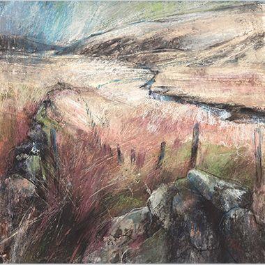 Towards Two Bridges, Dartmoor by Sara Bee