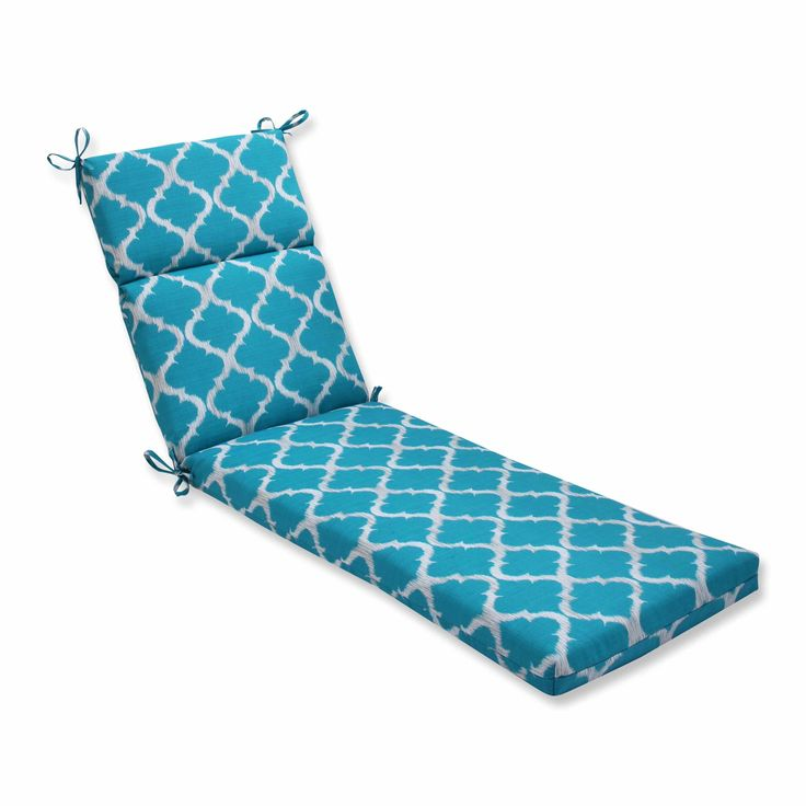 Kobette Teal Chaise Lounge Cushion