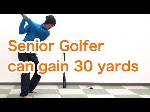 Golf / Driver / Senior / Gain Distance with circular motion : [Golf Swing Kinematics Japan] - YouTube