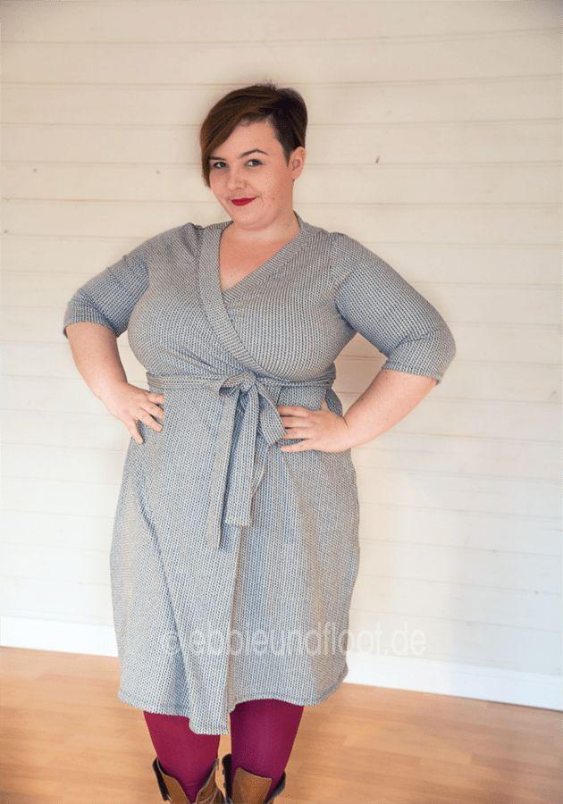 Plus Size Schnittmuster: Wickelkleid – Ein Basic-Kleid für jeden Figurtyp