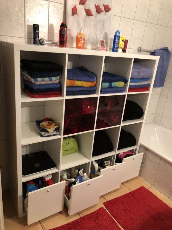 Diese Geschichte Hinter Badezimmer Regal Mit Schubladen