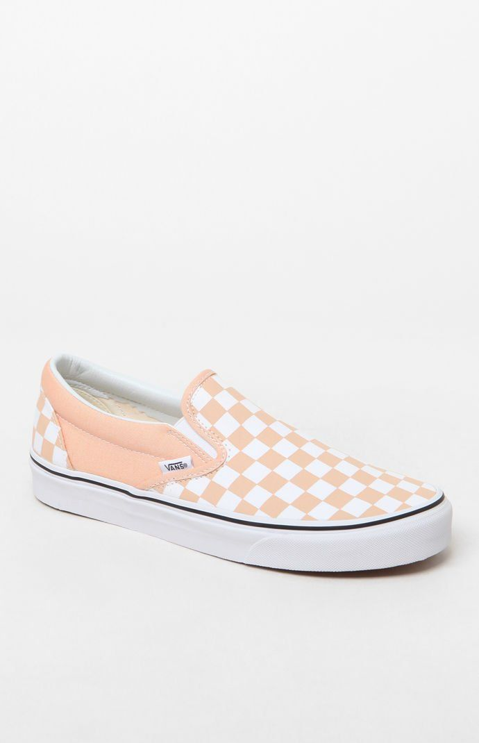Vans Women s Classic Pink Slip-On Sneakers at PacSun.com  24fdfc876f
