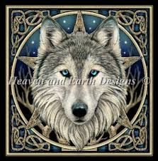 free cross stitch patterns wolves - Google-søk