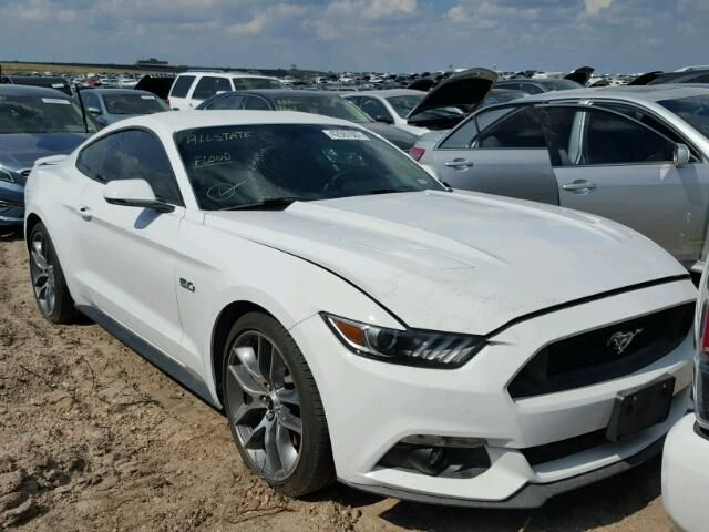 Salvage 2016 Ford Mustang Gt