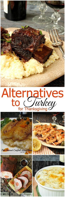 Alternatives to Turkey for Thanksgiving
