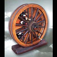 Wagon Wheel Wine Racks