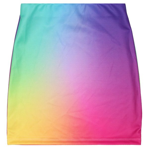 UNICORN PUKE SKIRT ($45) found on Polyvore featuring skirts, bottoms, faldas and polleras