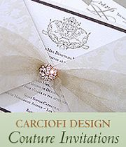 Luxury Wedding Invitations | Carciofi Design Blog | The WOW Factor! |  Luxury Wedding Invitations
