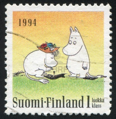 Moomin stamp 1994 Finland