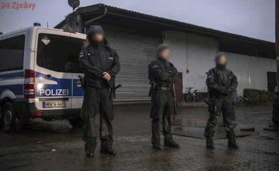 Razie v Německu a Británii: Policie jde po dvou teroristech