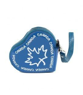 Royal Canada Heart Coin Purse