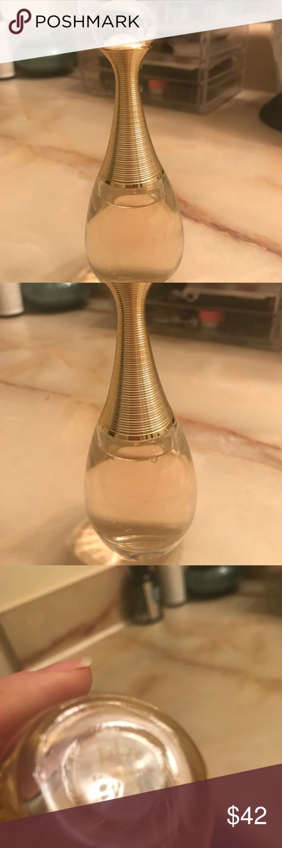 Jadore by Dior - Make reasonable offer! Jadore by Christian Dior Parfume - 1.7 oz This has only been sprayed once for 1st time use. It has been sitting on my vanity for a while now and I do not reach for it. It does not go well with my chemistry. Perfect for a Christmas gift or stocking stuffer. Sorry no box. I will accept all reasonable offers. Thank you! 😊 ❤️ Christian Dior Accessories