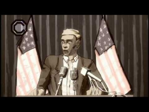 Flobots - Handlebars - YouTube This video/song is dark and intense but might be appropriate in an intermediate context