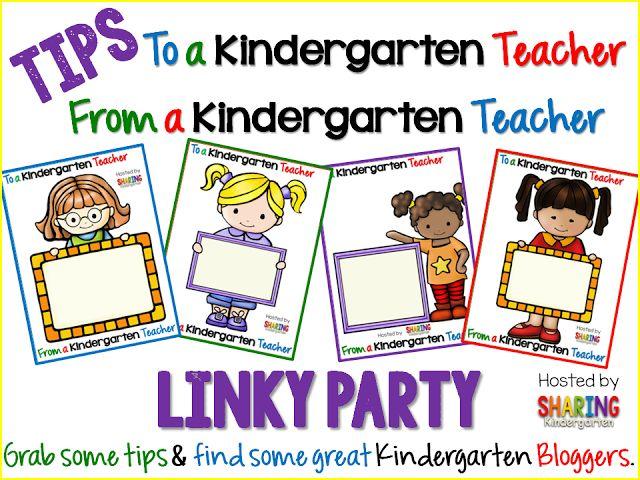 Tips to a Kindergarten Teacher, From a Kindergarten Teacher