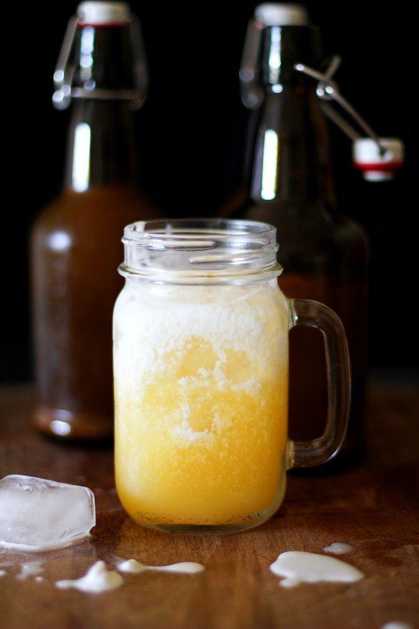 Orange Creamsicle Kombucha