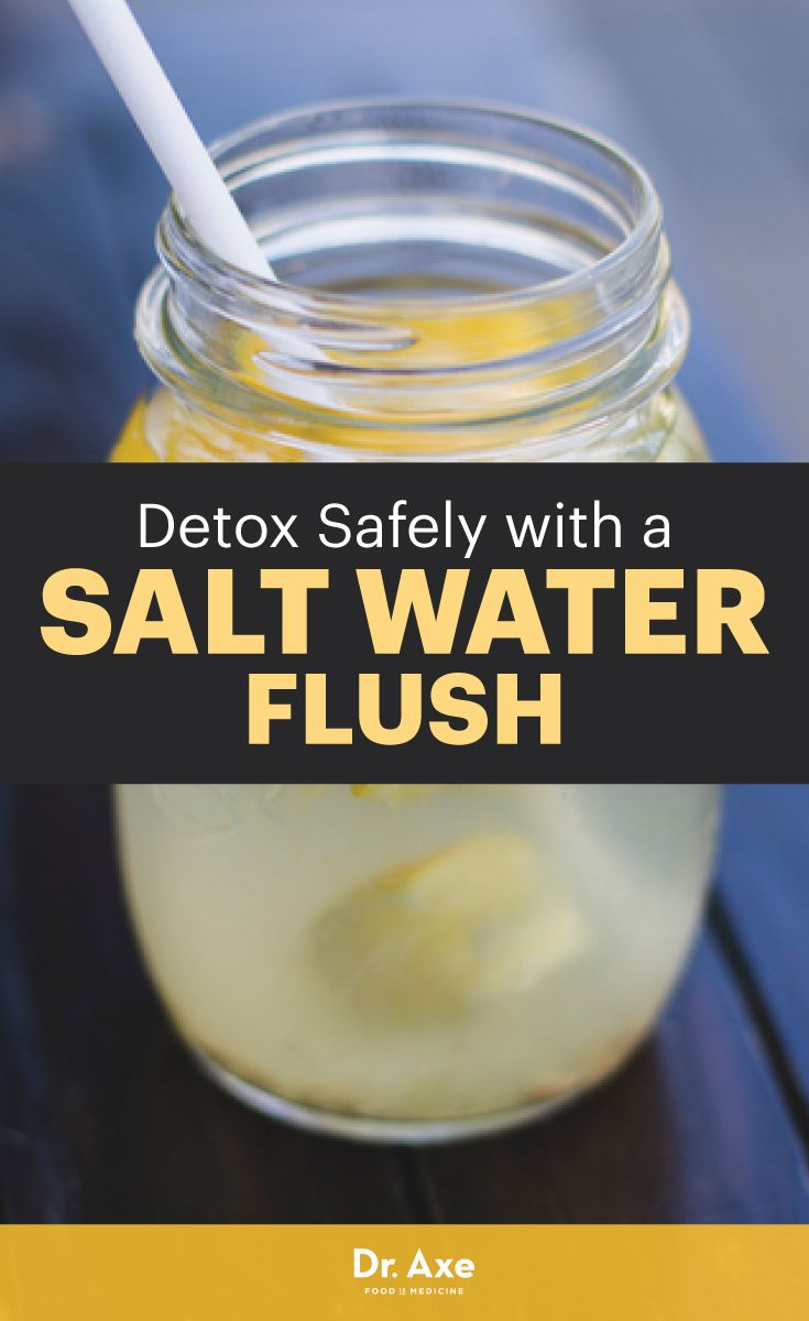 What Does Sea Salt Do to Your Body? Here are the benefits of a salt water cleanse.