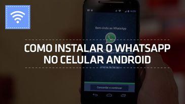 Como Instalar Whatsapp no Celular Android