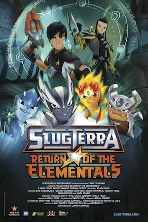 New Clip for Slugterra: Return of the Elementals Coming to Theaters Aug. 2nd - Two Kids and a Coupon