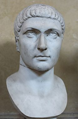 Edict of Milan: Christians would no longer be persecuted in the Roman Empire 313 AD