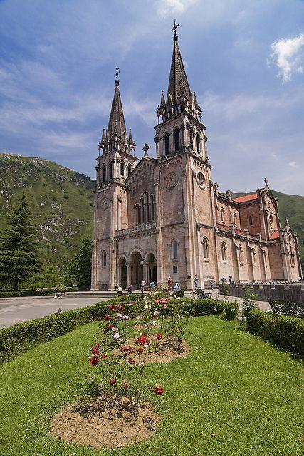Santuario de Covadonga, Asturias.