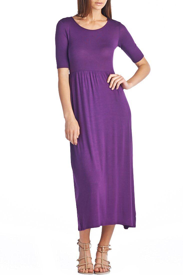 Mejores +25 imágenes de Vestidos Morados en Pinterest | Vestido ...