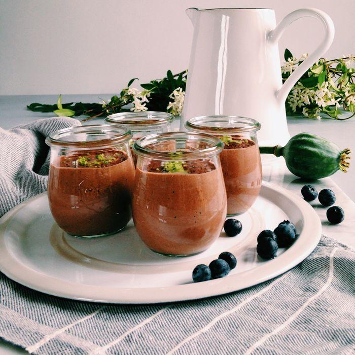 timo e basilico: Budino al cacao e semi di Chia {Remise en forme!}