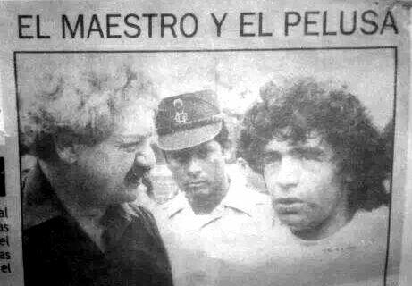 Maradona y...RAMSÉS. ¿Que año?