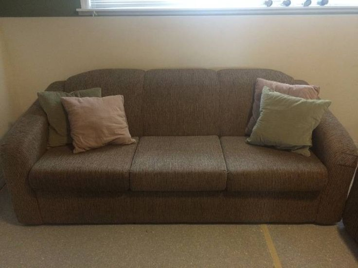 Brown-beige Couch/Chair Set - Castanet Classifieds