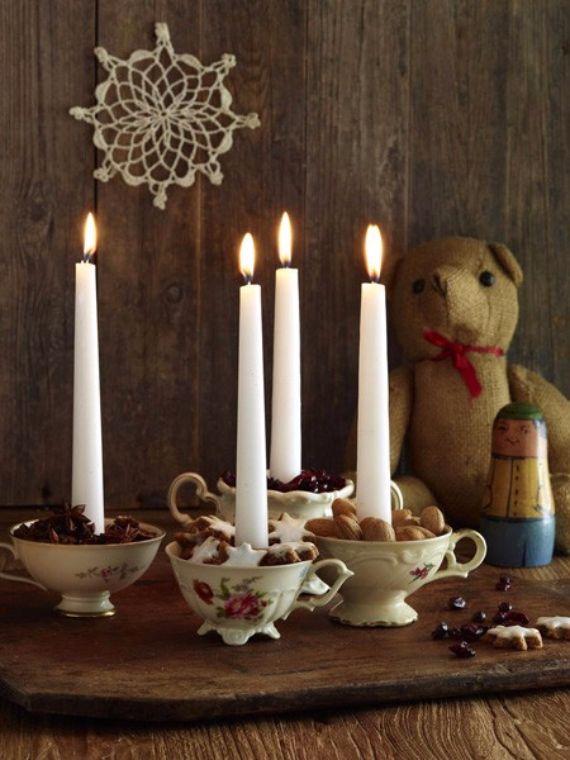 creative advent wreath ideas | 35 Creative Christmas Decoration – DIY Advent Wreath Ideas | Family ...