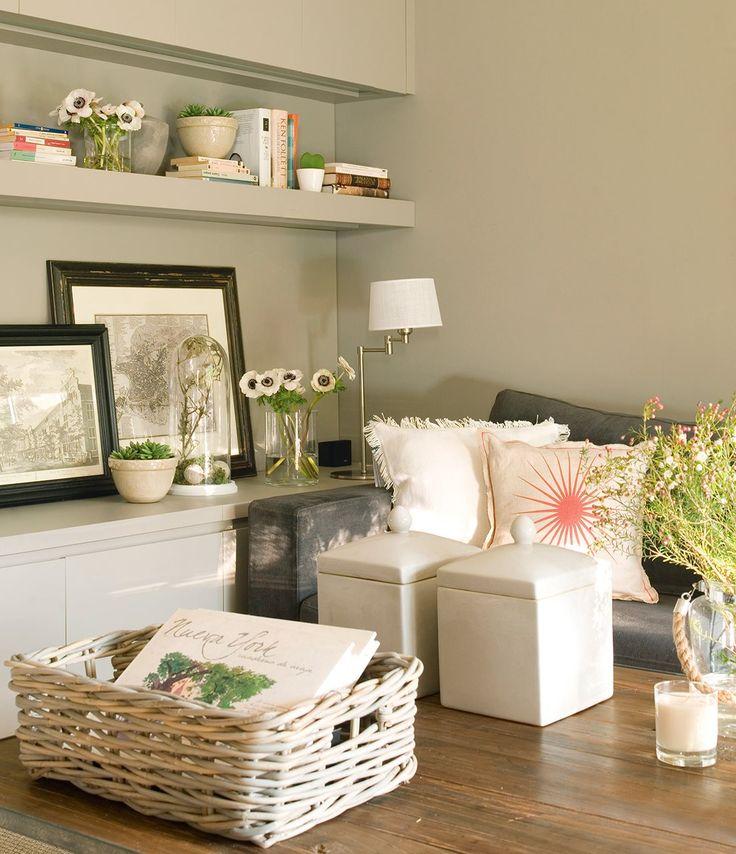 Decoracion salones pintura top decoracion blanco pintura - Pinturas modernas para salones ...