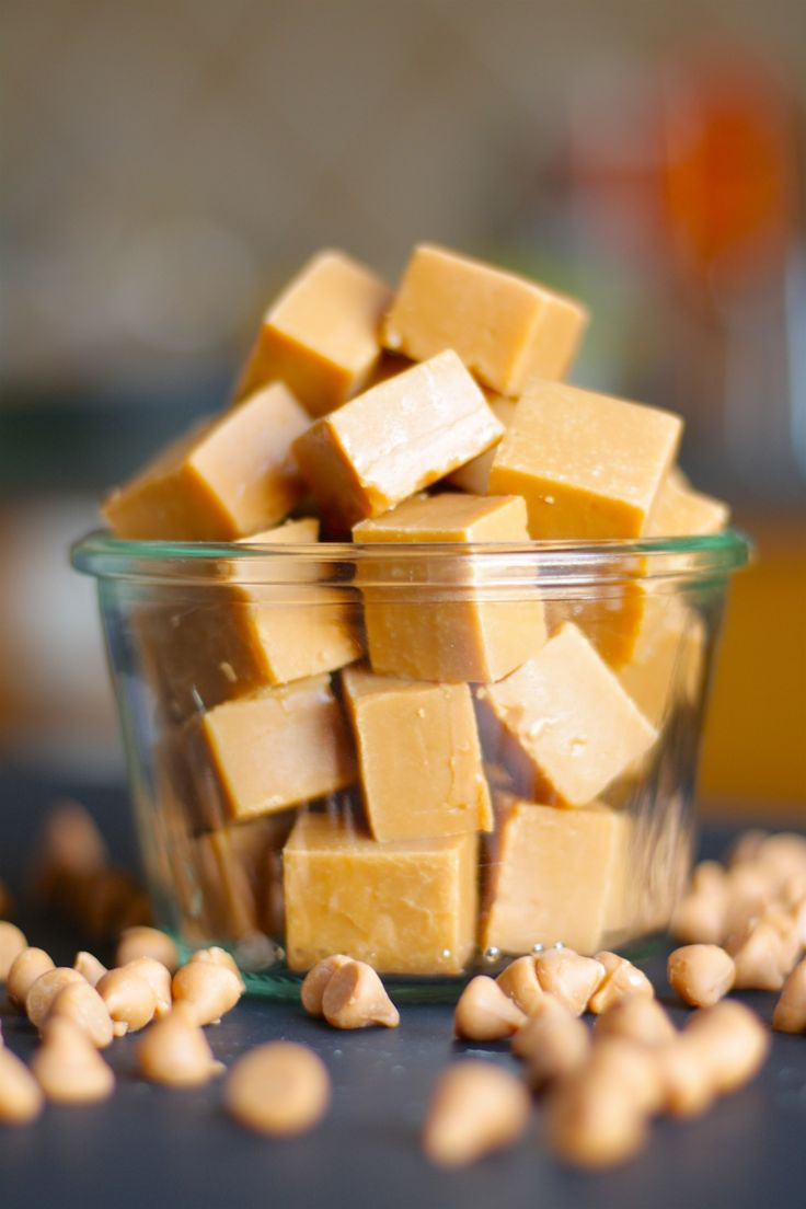 Butterscotch Fudge: With just three ingredients and 10 minutes of prep, you can have smooth, rich butterscotch fudge to share with a crowd!