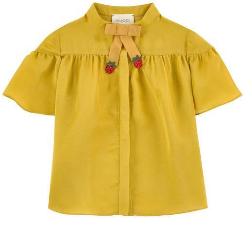 Mini Me silk blouse