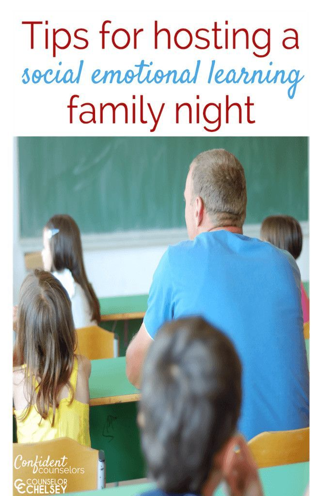 Hosting A Social Emotional Learning Family Night – Parent Engagement