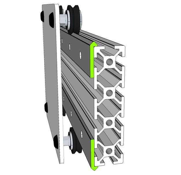55 Best Images About Alu Extrusion Linear Bearings Cnc