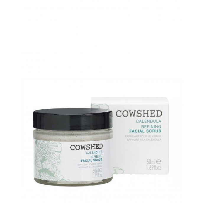 COWSHED Calendula Refining Facial Scrub - Kuorinta - http://meikkimaailma.com/kauppa/kauppa/ihonhoito/cowshed-calendula-refining-facial-scrub-kuorinta