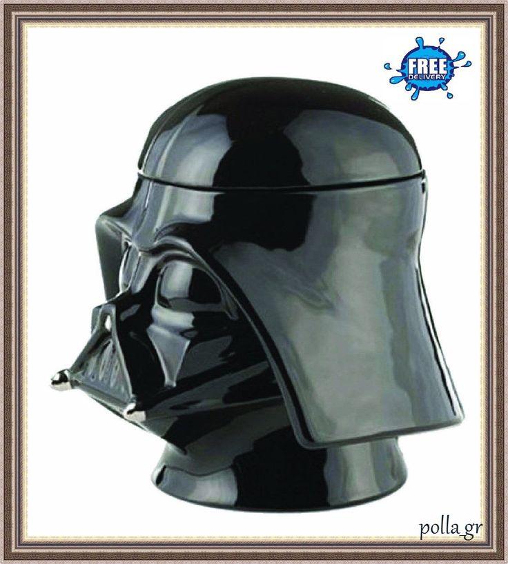 Cookie Jar Storage Kitchen Biscuit Star War Figures Darth Vader Collectable Lid | eBay