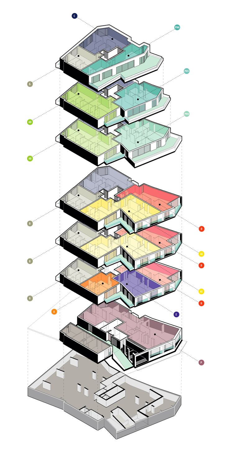 Image 64 of 69 from gallery of Ostasilor 8 / TAG Architecture. Apartment Types