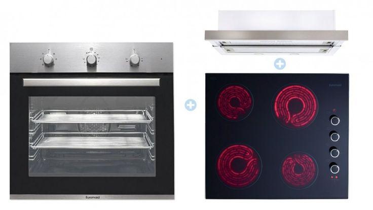 Euromaid 60cm Electric Cooking Package - Cooking Packages - Appliances - Kitchen Appliances | Harvey Norman Australia