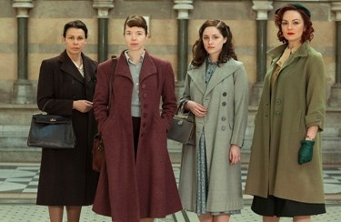 The Bletchley Circle fascinating, mystery about a circle of amazingly smart women. Why can't Americans make a totally classy TV series like the Brits?
