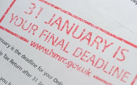 Deadline warning for Self Assessment #Tax Return