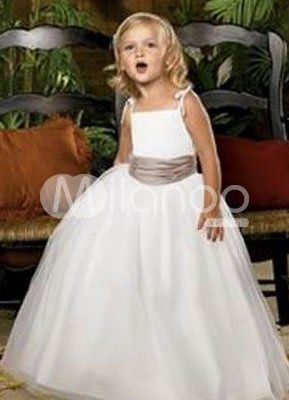 Robe de cortège Flower Girl Dresses $48