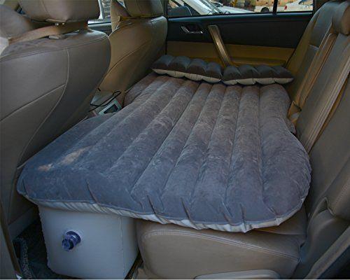 Auto Air Bett, dgreat SUV MPV Auto Rücksitz Bett aufblasbares Kissen Air Moible Reisen Camping Auto Rücksitz Verlängerte Matratze Couch für Sleep Rest mit Luftpumpe, Reparatur-Pad, Kleber Kits
