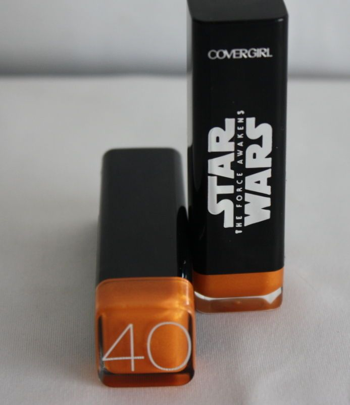 Lot of 2 Star Wars Limited Edition Covergirl Lipstick Color # 40 GOLD  shade 40 #CoverGirl