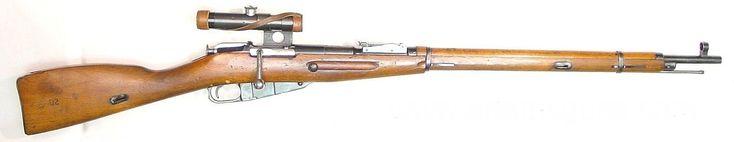 Rifle de francotirador Mosin-Nagant con mira telescópica