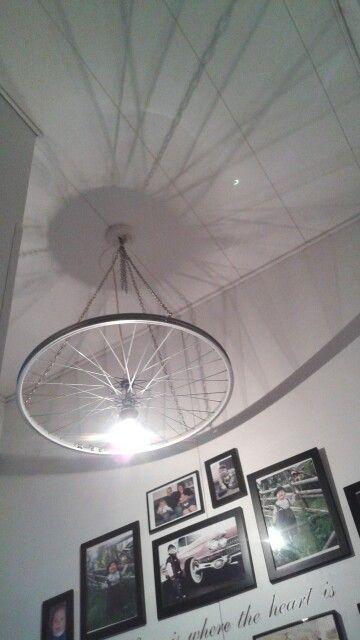 Bike wheel lamp ♡